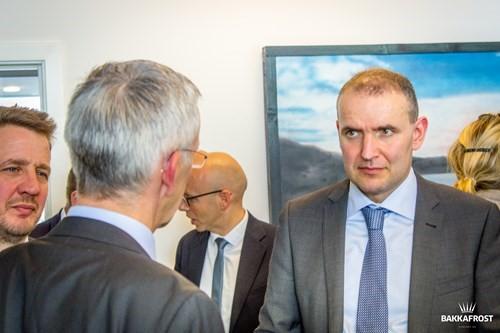 Icelandic President Visiting Bakkafrost