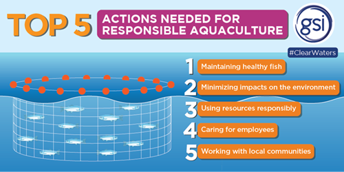 Top 5 Actions Needed For Responsible Aquaculture