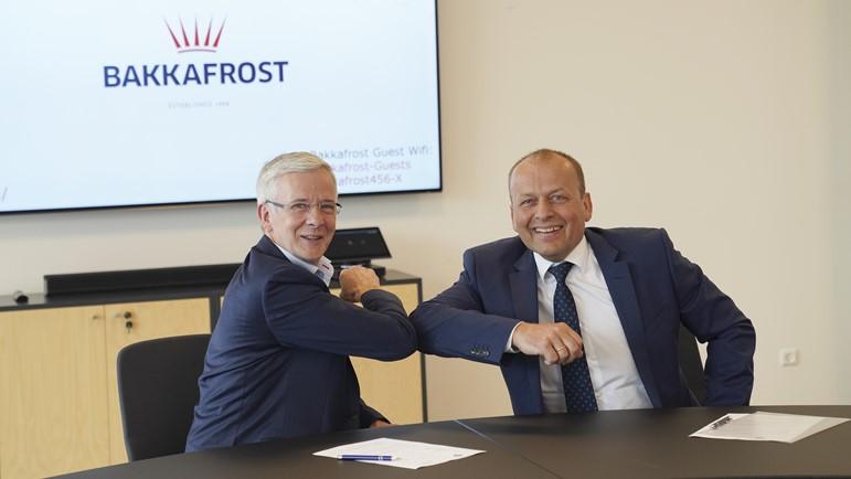 Bakkafrost participates in project to build eco-friendly workboat