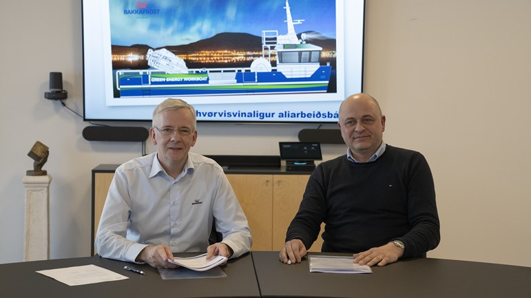 Bakkafrost signs contract with MEST Shipyard to build fully electric workboat