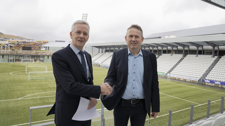 Bakkafrost extends sponsor contract with Faroese men's national football team