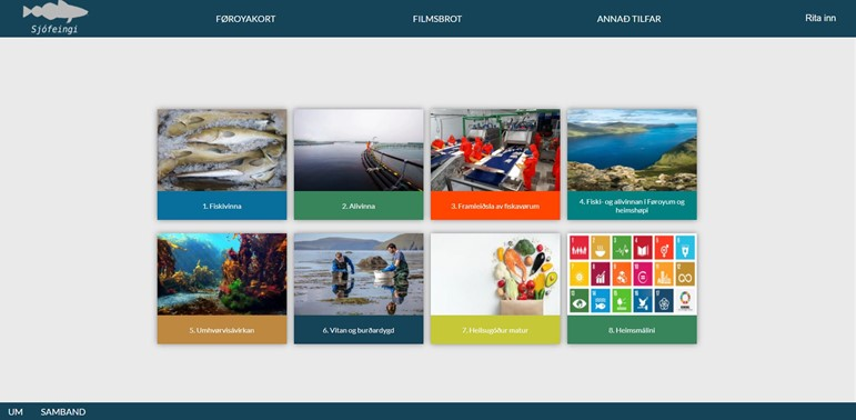 Faroese educational material on sustainable fishery and aquaculture published